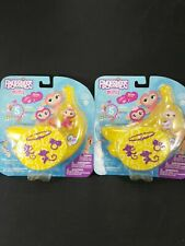 Fingerlings Minis Series Lot of 2 Banana Blister 6 figures New Kait Reese Wowwee
