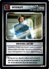 Star Trek CCG All Good Things Dimensional Shifting 10P