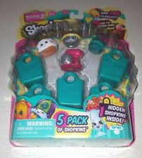 Shopkins 5 Pack Season 3 Brand New