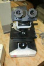 Leitz Laborlux S Microscope With 4 Objectivesamp Eyepieces