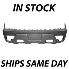 NEW 2002 Chevy Avalanche Front Bumper Cover Gray Textured W/ Cladding 88944057