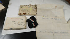 WWI British Army Box for War and Victory Medal Worchestershire REGT
