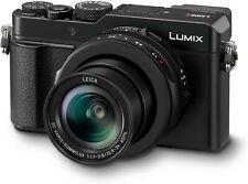 Panasonic DC-LX100M2EB 4/3-Inch 17MP and F1.7 – 2.8 Leica Lens (24-75 mm) Lumix