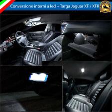 KIT FULL LED INTERNI JAGUAR XF XFR CONVERSIONE COMPLETA + LUCI TARGA CANBUS