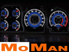 FORD PROBE MK1 glow gauges plasmatachoscheiben reverse glow face gauges dials