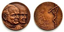 Medaglia Giovanni Paolo II Totus Tuus Brescia 1982 Bronzo, Diametro cm 4,3 Peso