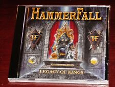 Hammerfall: Legacy Of Kings CD 1998 Nuclear Blast GmbH Records USA NB 6335-2 NEW