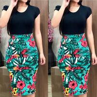 Elegant Women's Business Office Dress Formal Bodycon Sheath Pencil Dresses HOT