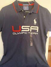 Ralph Lauren USA Olympic Team Blue Shirt Made In USA