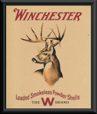 Winchester Whitetail Buck Hunting Advertisement Reprint On 90 Year Old Paper 083