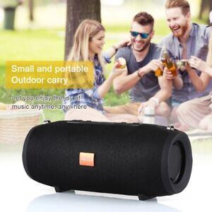 Portable Wireless Bluetooth Speaker Waterproof Stereo Bass USB/TF/AUX MP3