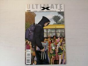 ULTIMATE X #1 VF 2009 variant cover 1ST APPEARANCE WOLVERINE'S SON JIMMY HUDSON