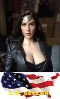 1/6 Gal Gadot female head wonder woman phicen hot toys kumik ❶USA IN STOCK❶