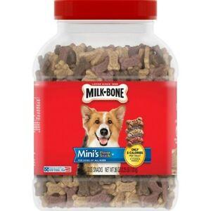 Milk-Bone Mini's Dog Flavor Snacks 36 oz Tub