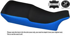 BLACK & LIGHT BLUE VINYL CUSTOM FITS BMW R 80 GS R 100 GS 86-93 SEAT COVER