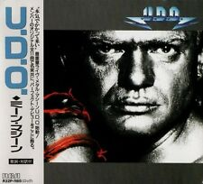 U.D.O. Mean Machine FIRST PRESS JAPAN CD OBI P32P-1185 Accept Udo Dirkschneider
