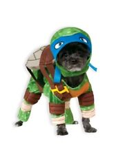 Nickelodeon Teenage Mutant Ninja Turtles LEONARDO DOG COSTUME Medium Halloween M