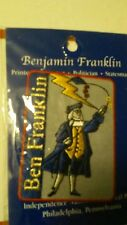Ben Franklin NEW patch Independence National Historical Park Pennsylvania
