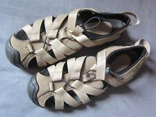 Damen Lands' End Trekking Sandalette, Größe 39, beige