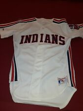 Cleveland Indians Vintage Rawlings Stitched Jersey Size 40 1980s-90s