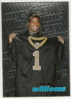1999 Topps Finest Ricky Williams - New Orleans Saints Mystery Chrome Rookie #M16