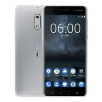 """Nokia 6 32 Go 5,5"""" TA-1033 Smartphone Android RAM 3 Go 16 MP Argenté désimlocké"""