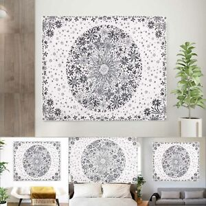 Large Indian Tapestry Wall Hanging Mandala Hippie Bedspread Throw Cover Decor UK