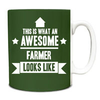 This is what an AWESOME Farmer Looks like Mug Gift idea coffee cup 080