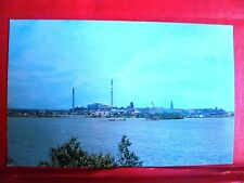 Postcard Canada Quebec Rouyn Noranda 1950's View Noranda Mine from Osisko Lake