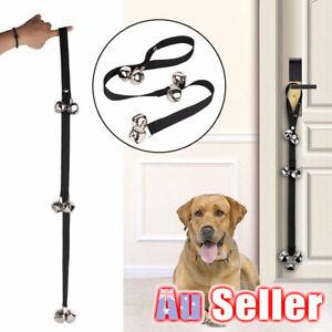 Open Door Bell Rope Pet Dog Puppy Potty Dog Training Housebreaking Doorbells