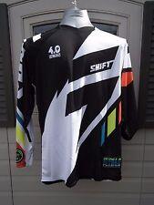 Shift Faction Mainline Jersey Long Sleeve Motocross Jersey Black SMALL S 11411