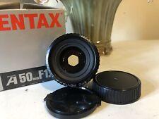 SMC PENTAX-A 50mm 1:1 .7 lente principal con montaje PENTAX K En Perfecto Estado