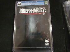Joker/Harley Criminal Insanity #5 - CGC 9.8  Highest Graded!