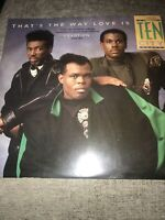 """Ten city That's the way love is 12"""" vinyl 1989 garage house"""