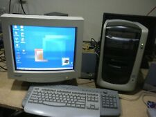 Vintage HP Pavilion8705  w. Monitor Keyboard Mouse Speakers WIndows Millenium ME
