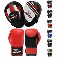ADii™ Boxing Punching Mitts Gloves | Target Focus Pad Thai MMA Kickboxing Karate