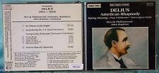 FREDERICK DELIUS - AMERICAN RHAPSODY - JOHN HOPKINS - 1 CD n.1452
