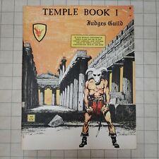 Temple Book I - Judges Guild