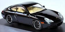 Porsche 911 Carrera 996 Coupé 1997-2006 Negro Metal Ruedas: Negro 1:43 Schuco