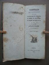 Prontuario Pel Ragguaglio Lire Austriache Italiane Fiorini e Lire Modenesi 1854