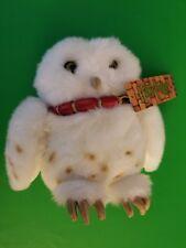 "Harry Potter Gund Hedwig Owl 8"" Plush #7047 NWT 2000"