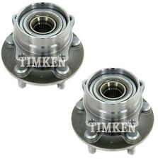 Pair Set 2 Front Timken Wheel Bearing And Hub Kits for Toyota Prius 04-09 FWD