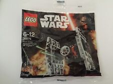 New Sealed Genuine Lego Star Wars First Order Special Forces TIE Fighter 30276