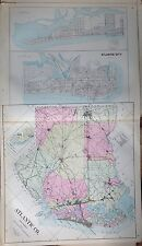 1905 ATLANTIC COUNTY ATLANTIC CITY VENTNOR NEW JERSEY ATLAS MAP