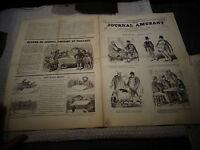 """Ancien """" LE JOURNAL AMUSANT """"N°771 1871 Propos Bourgeois / En Province"""