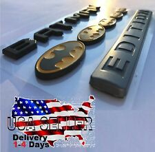 BATMAN FAMILY EDITION Emblem Tailgate lid Plaque car TRUCK LOGO Medal DECAL SIGN