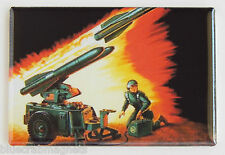 G.I. Joe Mobile Missile System FRIDGE MAGNET (2 x 3 inches) cobra hawk mms