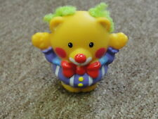FISHER PRICE LITTLE PEOPLE Circus Bear - Touch & Feel