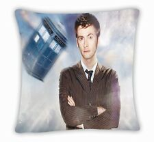 Brand New Dr Doctor Who Tardis Police Box Throw Pillow Cushion Case Cover