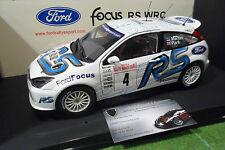 FORD FOCUS RS WRC # 4 RALLYE MONTE CARLO 2003 MARTIN au 1/18 AUTOart 80311 Rally